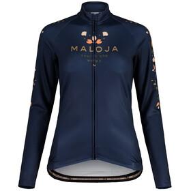 Maloja RubinieM. 1/1 Long Sleeve Bike Jersey Women, night sky